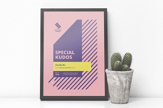 Mención Especial en CSS Design Awards