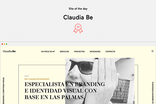 Site of the Day en Mindsparklemag